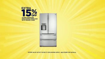 Sears Cashback Bonanza TV Spot, 'Kenmore Appliances' - Thumbnail 4