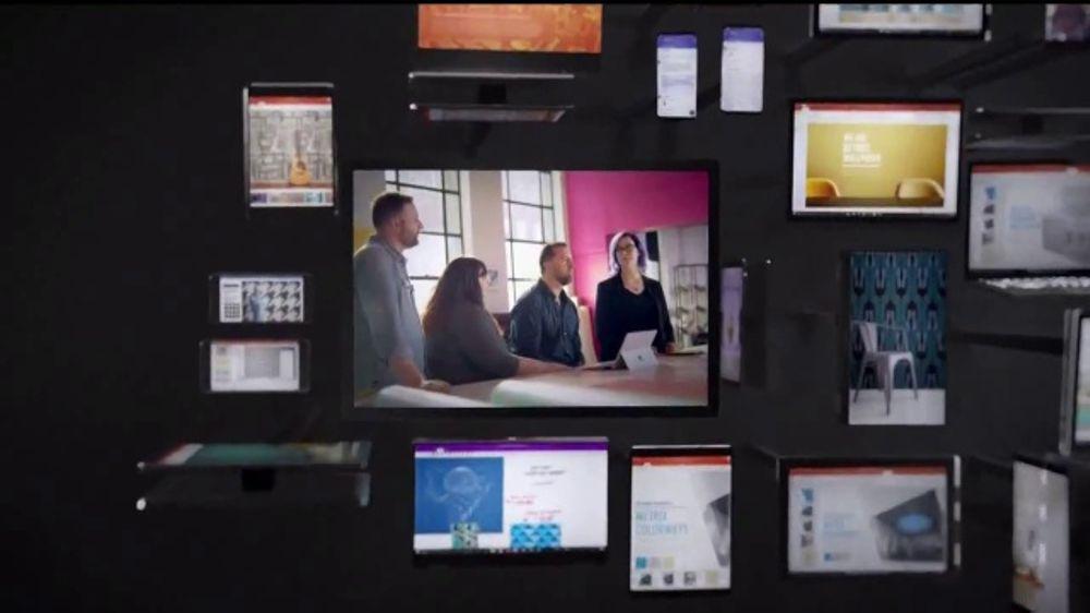 Microsoft Office 365 + Teamwork TV Commercial, 'Detroit Wallpaper Co.' - iSpot.tv