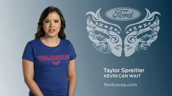 Ford Warriors in Pink TV Spot, 'Make a Difference' Feat. Taylor Spreitler - Thumbnail 2