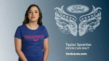 Ford Warriors in Pink TV Spot, 'Make a Difference' Feat. Taylor Spreitler - Thumbnail 3