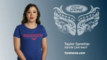 Ford Warriors in Pink TV Spot, 'Make a Difference' Feat. Taylor Spreitler - Thumbnail 6
