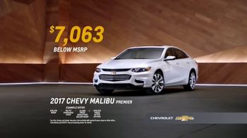 2017 Chevy Malibu Premier TV Spot, 'Most Awarded: Long List' [T2] - Thumbnail 9