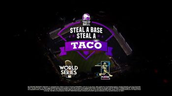 Taco Bell Steal a Base, Steal a Taco TV Spot, '2017 World Series' - Thumbnail 8