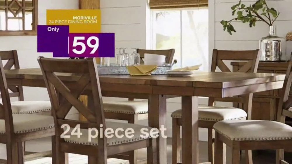 Ashley HomeStore Get More Event TV Commercial, \'Dining Room Sets\' - Video