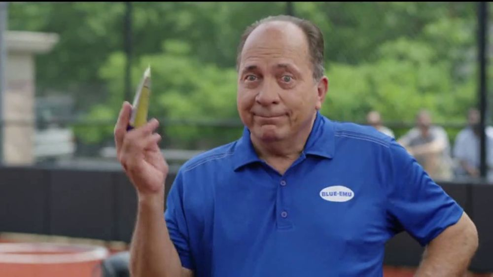 Blue-Emu Pain Relief Cream TV Commercial, 'Baseball Field' Ft. Johnny Bench
