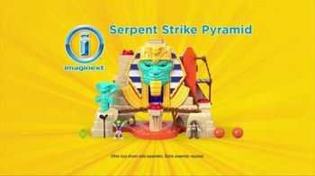 Imaginext Serpent Strike Pyramid TV Spot, 'Explore' - Thumbnail 8