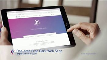 Experian TV Spot, 'Dark Web Scan'