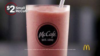 McDonald's McCafé Smoothies, Frappés and Shakes TV Spot, 'Hit Pause' - Thumbnail 1