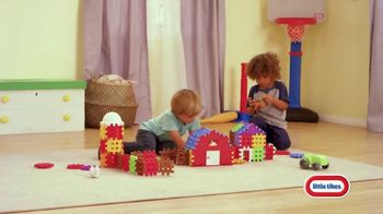Little Tikes Waffle Blocks TV Spot, 'There's So Much to Build' - 405 commercial airings