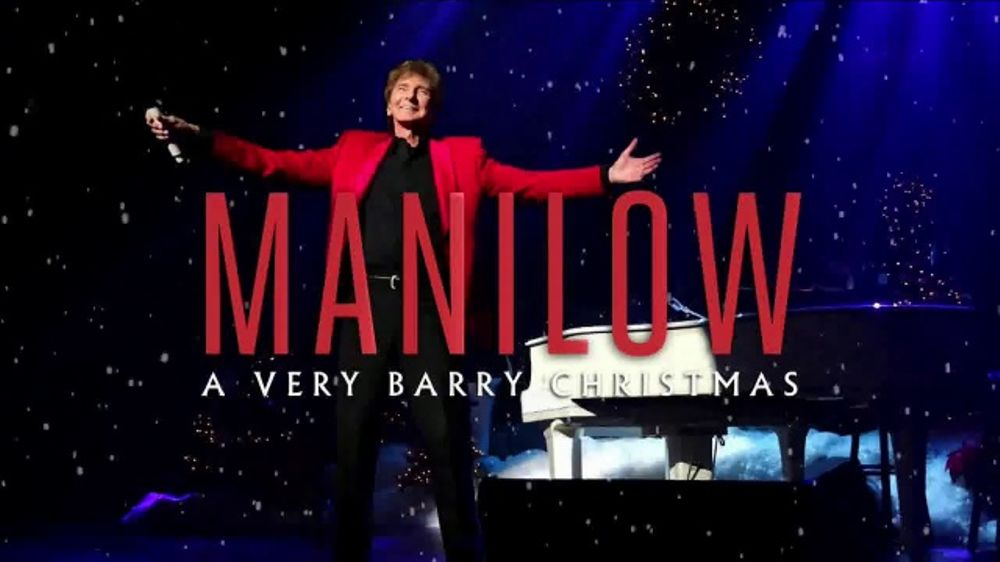 Barry Manilow: A Very Barry Christmas TV Commercial, \'The Forum ...