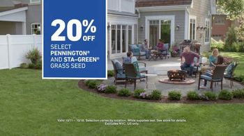 Lowe's TV Spot, 'Backyard Moment: Grass Seed' - Thumbnail 6