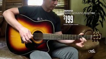 Guitar Center Guitar-a-Thon TV Spot, 'Acoustic Guitars' - Thumbnail 5