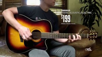 Guitar Center Guitar-a-Thon TV Spot, 'Acoustic Guitars' - Thumbnail 6