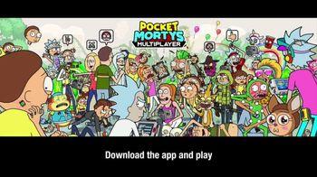 Pocket Mortys Multiplayer TV Spot, 'Trans-Dimensional Portal' - Thumbnail 5