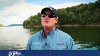 Pugs TV Spot, 'Outdoor Channel: Win a Fishing Trip With Joe Thomas'