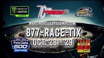 Martinsville Speedway TV Spot, 'Tick Tock: 2017 First Data 500' - Thumbnail 10