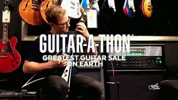 Guitar Center Guitar-a-Thon TV Spot, 'Guitar Strings' - Thumbnail 1