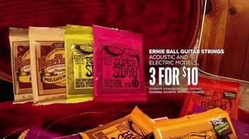 Guitar Center Guitar-a-Thon TV Spot, 'Guitar Strings' - Thumbnail 6