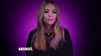 Absolut Open Mic Project TV Spot, 'Your Story' Featuring Rita Ora - 2 commercial airings