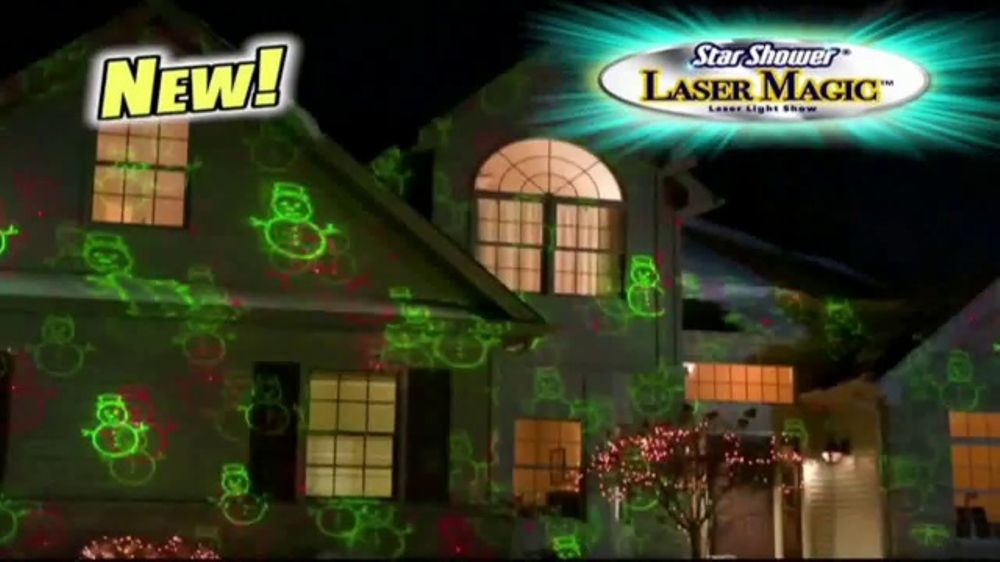 Star Shower Laser Magic Tv Commercial For The Holidays