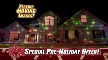 Star Shower Laser Magic TV Spot, 'For the Holidays' - Thumbnail 4