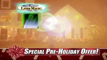 Star Shower Laser Magic TV Spot, 'For the Holidays' - Thumbnail 5