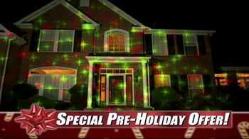 Star Shower Laser Magic TV Spot, 'For the Holidays' - Thumbnail 6