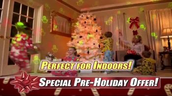 Star Shower Laser Magic TV Spot, 'For the Holidays' - Thumbnail 7