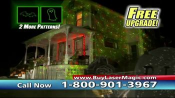 Star Shower Laser Magic TV Spot, 'For the Holidays' - Thumbnail 8