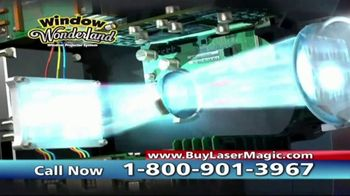 Star Shower Laser Magic TV Spot, 'For the Holidays' - Thumbnail 9