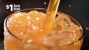 McDonald's $1 Any Size Soft Drinks TV Spot, 'Get It Popping' - Thumbnail 1