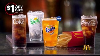 McDonald's $1 Any Size Soft Drinks TV Spot, 'Get It Popping' - Thumbnail 8