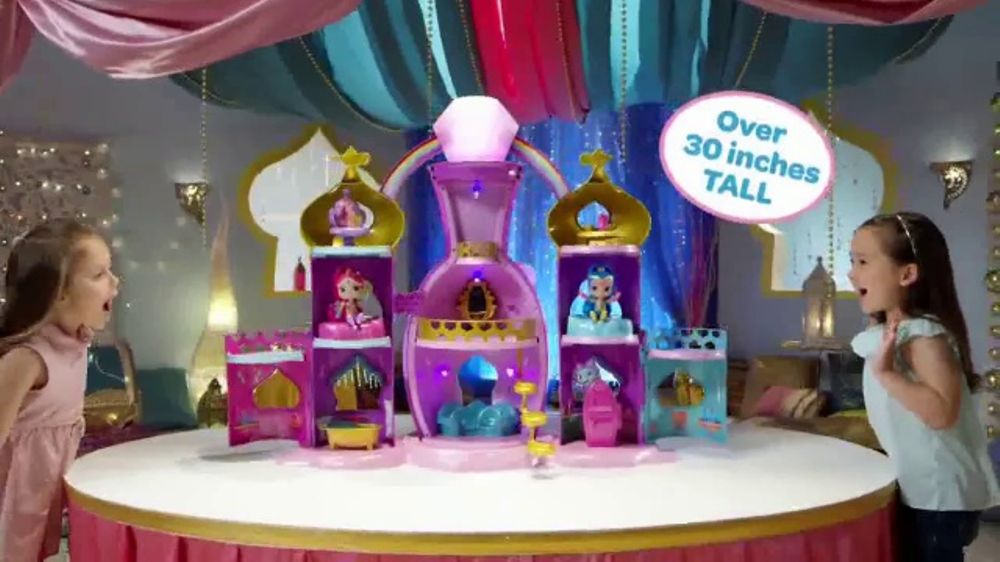 Shimmer and Shine Magical Light-Up Genie Palace TV Commercial, 'Make a Wish'