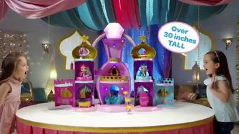 Shimmer and Shine Magical Light-Up Genie Palace TV Spot, 'Make a Wish' - 396 commercial airings