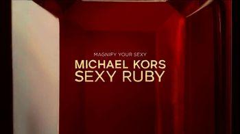 Michael Kors Sexy Ruby Fragrances TV Spot, 'Where Fantasy Meets Femininity' - Thumbnail 6