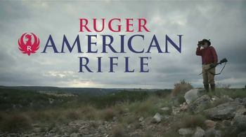 Ruger American Rifle TV Spot, 'Coast to Coast' Featuring Larry Weishuhn