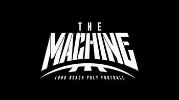 Go90 TV Spot, 'The Machine: Long Beach Poly Football'
