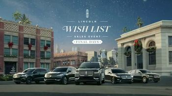 Lincoln Wish List Sales Event TV Spot, 'Final Days: Olivia's Wish List' - Thumbnail 8