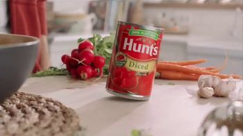 Hunt's Diced Tomatoes TV Spot, 'Vine to Can' - Thumbnail 5