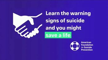 American Foundation for Suicide Prevention TV Spot, 'Warning Signs' - Thumbnail 3