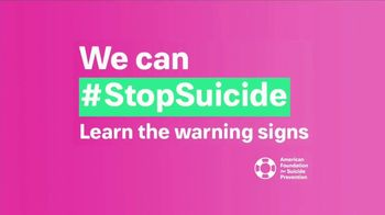American Foundation for Suicide Prevention TV Spot, 'Warning Signs' - Thumbnail 7