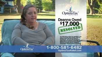 Optima Tax Relief TV Spot, 'Deanna' - Thumbnail 2