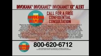 Invokana Helpline TV Spot, 'Medical Announcement: Side Effects' - Thumbnail 6