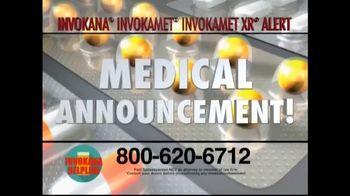 Invokana Helpline TV Spot, 'Medical Announcement: Side Effects' - Thumbnail 2