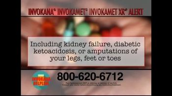 Invokana Helpline TV Spot, 'Medical Announcement: Side Effects' - Thumbnail 5