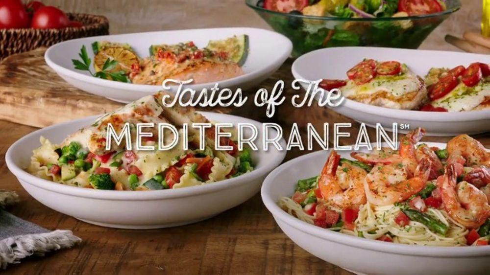 olive garden tastes of the mediterranean tv commercial fresh spin ispottv - Olive Garden Salad Calories