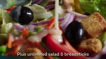 Olive Garden Tastes of the Mediterranean TV Spot, 'Fresh Spin' - Thumbnail 9