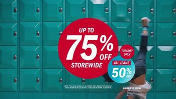 Old Navy TV Spot, 'Best Jeans in the Game: 50 Percent Off' Song by MEN$A - Thumbnail 10