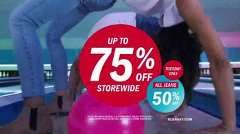 Old Navy TV Spot, 'Best Jeans in the Game: 50 Percent Off' Song by MEN$A - Thumbnail 9