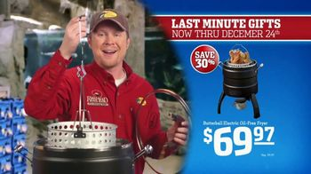 Bass Pro Shops Christmas Sale TV Spot, 'Gifts: Slippers and Fryers' - Thumbnail 5
